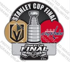 VEGAS GOLDEN KNIGHTS WASHINGTON CAPITALS PIN STANLEY CUP FINAL DUELING AMINCO