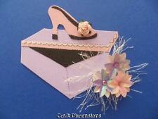 EXCLUSIVE SHOE BOX AND SHOE DIE CUTS