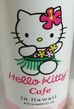 Hello Kitty Cafe Hawaii 6 Beverage Paper Cups Napkins Stickers 2000 NIP