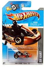 2012 Hot Wheels #244 HW Code Cars Go Kart