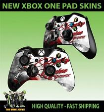 Xbox One Controller Tappetino KIT ADESIVI HARLEY QUINN ARKHAM BATMAN Skins X2