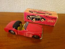 TEKNO - TRIUMPH TR2 - Diecast Model from Denmark - VERY RARE from the 1950's.