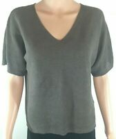 EILEEN FISHER Boxy Top 100% ORGANIC LINEN Size PETITE Size S / PS