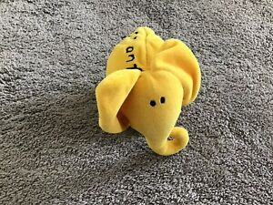 Bang On The Door Elephant Yellow Size Small
