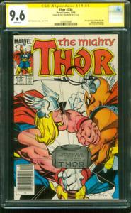 Thor 338 CGC SS 9.6 Walter Simonson 2nd Beta Ray Bill Newsstand Ed 12/1983