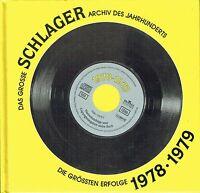 (CD und Buch) Schlager 1978-1979 - Das grosse SCHLAGER Archiv des Jahrhunderts