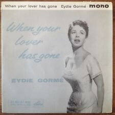 Eydie Gorme When Your Lover Has Gone (HMV 7EG 8515) 1959 1st UK Vinyl 4 Track EP