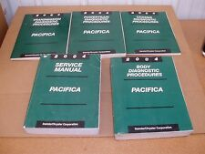 2004 Chrysler Pacifica service shop dealer repair manual with diagnostic