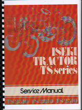 "Iseki ""TS Series"" Tractor Service Workshop Manual"