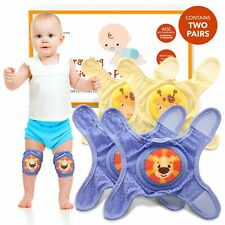 Baby Knee Pads For Crawling - Knee Pads Baby Adjustable Padded Accessories fo.