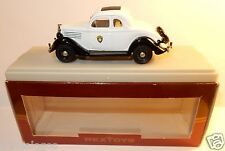 REXTOYS FORD 1935 TYPE 48 COUPE 5 GLACES MONTANA HIGHWAY PATROL BOX REF 55 1/43
