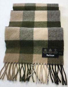 BARBOUR ,LAMBSWOOL SCARF