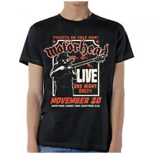 Motorhead-Lemmy-Firepower Live-X-Large Black T-shirt