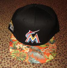 REDUCED-LOT of 2-MIAMI MARLINS CORONA FLORAL HATS CAPS-NEW-SGA 7af9c4c0feed