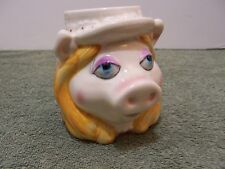 Vintage The Muppets Miss Piggy Coffee Mug Cup Ceramic Sigma the Tastesetter Vtg