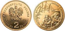 """Poland 2007 2 zlotych """"A.B. Dobrowolski and H. Arctowski"""" UNC"""