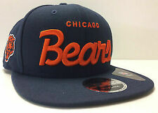 Chicago Bears Era HISTORIC Specialty Script Original Fit 9fifty Snapback Cap