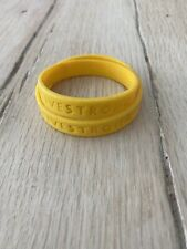 NIKE LIVESTRONG YELLOW  BRACELET LANCE ARMSTRONG lot (2) units small & large