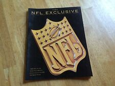 1993 NFL EXCLUSIVE OFFICIAL MAGAZINE OF THE NFL SEASON TICKET HOLDER TOP DRAFT