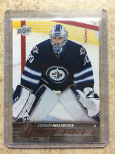 15-16 UD Upper Deck YG Young Guns Rookie RC #214 CONNOR HELLEBUYCK
