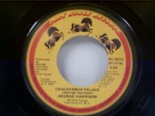 """GEORGE HARRISON """"CRACKERBOX PALACE / LEARNING HOW TO LOVE YOU"""" 45"""