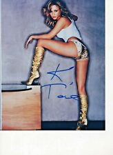 Katherine Towne Buffy The Vampire Slayer Sexy Autograph Hand Signed 8x10 COA