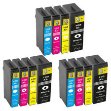 12x Ink Cartridges Lexmark 100 XL for S305 S405 S505 S605 Pro901 Pro903 Printer
