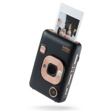 Fuji INSTAX MINI LiPlay Camera & Printer - Elegant Black