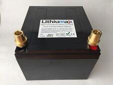 LITHIUMAX Black Series 850CCA Car or Boat Battery, LiFePo4, Lithium, Ultralight!