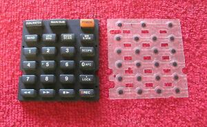 Icom IC-R20 used spares - keyboard