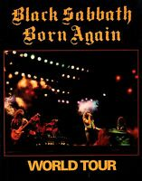 BLACK SABBATH 1983 BORN AGAIN TOUR CONCERT PROGRAM BOOK BOOKLET / NMT 2 MINT