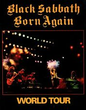 BLACK SABBATH 1983 BORN AGAIN TOUR CONCERT PROGRAM BOOK