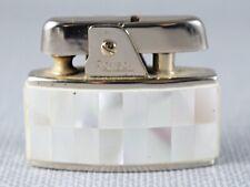 More details for vintage ronson bijou milady mother of pearl pocket lighter