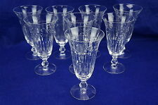 "Tiffin Colton #17399 Lot of (8) Iced Tea Glasses, 6 3/4"""