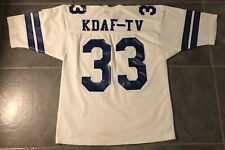 Dallas Cowboys Promotional KDAF-TV Sand-Knit Football Jersey Men's XL
