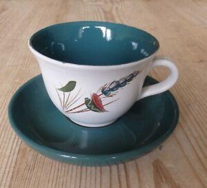Denby Greenwheat Tea Cup and Saucer