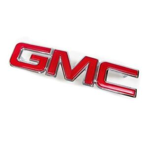 OEM NEW 1988-02 GM Chevrolet Cadillac Front Grille GMC Emblem Badge Red 12542030
