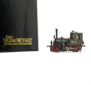 MICRO METAKIT 10102H HO H0 BRASS Messing KPEV K.P.E.V. T 0 Lok-Nr. Hannover 1913