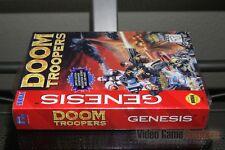 Doom Troopers (Sega Genesis, 1995) FACTORY SEALED! - EXCELLENT! - ULTRA RARE!