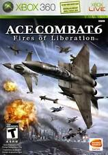 Ace Combat 6 Fires Of Liberation Xbox 360 Game