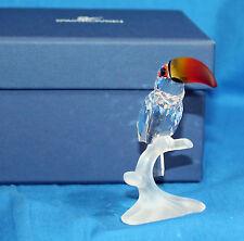 "Swarovski Crystal Figurine, 234311 - Toucan, 3""H - $100 V Mint w/Box"