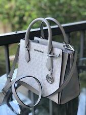 Michael Kors Medium Leather Messenger Crossbody Handbag Satchel Purse Bag Tote