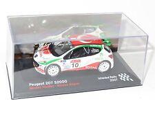 1/43 Peugeot 207 S2000 IRC Xbox 360 Rally de Estambul 2007 N. VOUILLOZ
