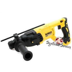 "New DeWALT DCH133 DCH133B XR 20V MAX Brushless 1"" Rotary D-Handle Hammer Drill"