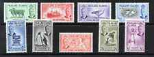 FALKLAND ISLANDS King George VI 1952 Part Set to 5/- SG 172 to SG 183 MINT