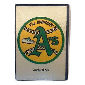"1977 ERA OAKLAND ATHLETICS A'S MLB BASEBALL VINTAGE 7-11 STORE 3"" STICKER PATCH"
