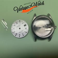 Case Rolex 15000 Cassa Quadrante Lancette Completa Originale Dial Bianco 3135