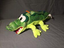 Green Plush Alligator Stuffed Toy