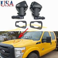 For Dodge Nitro Jeep Liberty Commander Windshield Washer Nozzle Jet Spray 2x