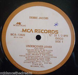 "DEBBIE JACOBS ~ Undercover Lover / Think Im Fallin In Love 12"" Single USA PRESS"